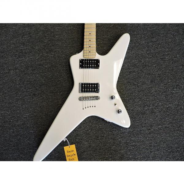 Custom Kramer Voyager Aged White Electric Guitar #1 image