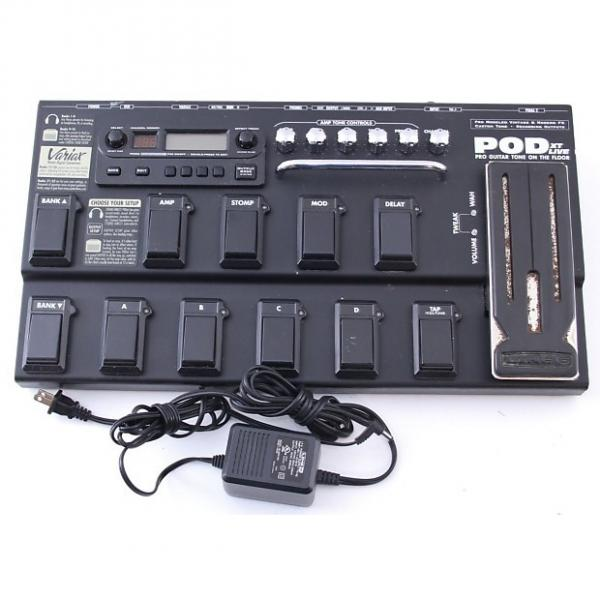 Custom Line 6 Pod XT Live Multi-Effects Pedal & Power Supply PD-4000 #1 image