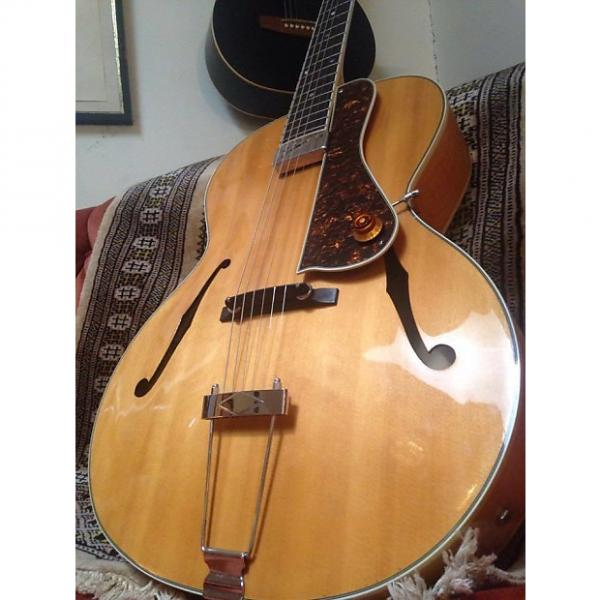 Custom The Loar LH-500 Natural Blonde #1 image
