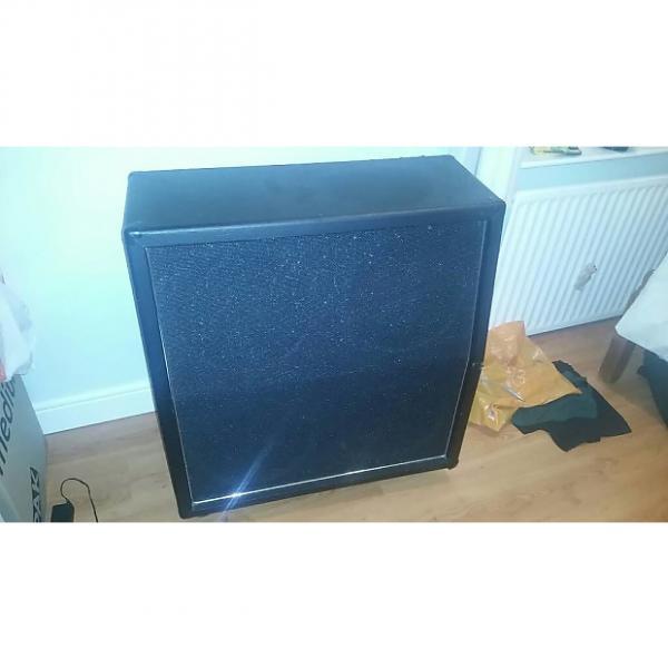 Custom Ashton GQ-200BK Black 200w Angled 4x12 guitar cabinet 8ohms Celestion Speakers #1 image