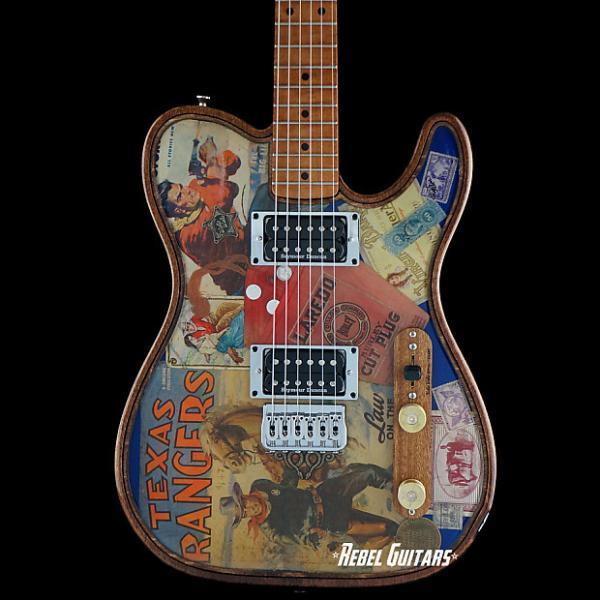 "Custom Walla Walla Guitar Maverick Pro Crystal ""Tone Ranger"" Tele Guitar Telecaster #1 image"