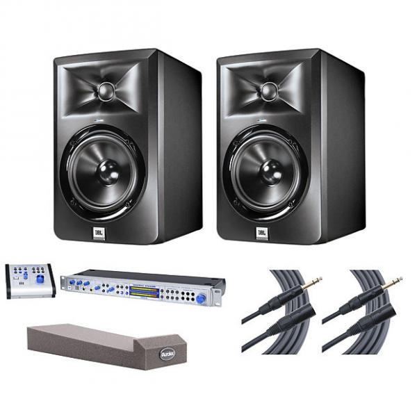 Custom 2x JBL LSR305 + Central Station PLUS + MoPADs + Mogami Cables #1 image