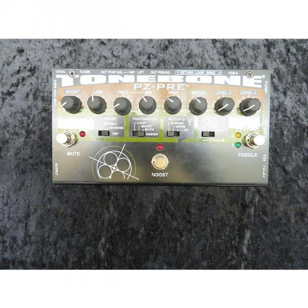Custom Radial ToneBone PZ-Pre Acoustic Guitar Pedal #1 image
