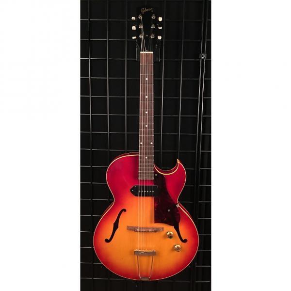 Custom Vintage 1961 Gibson ES-125TC Hollow Body Electric Guitar Cherry Sunburst Finish #1 image