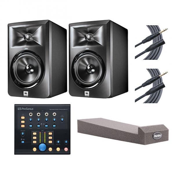 Custom 2x JBL LSR305 + Monitor Station V2 + MoPADs + Mogami Cables #1 image