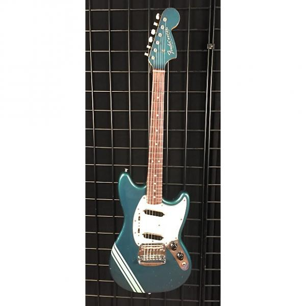 Custom Vintage 1970 Fender Mustang Electric Guitar Competition Blue w/MatchingHeadstock #1 image