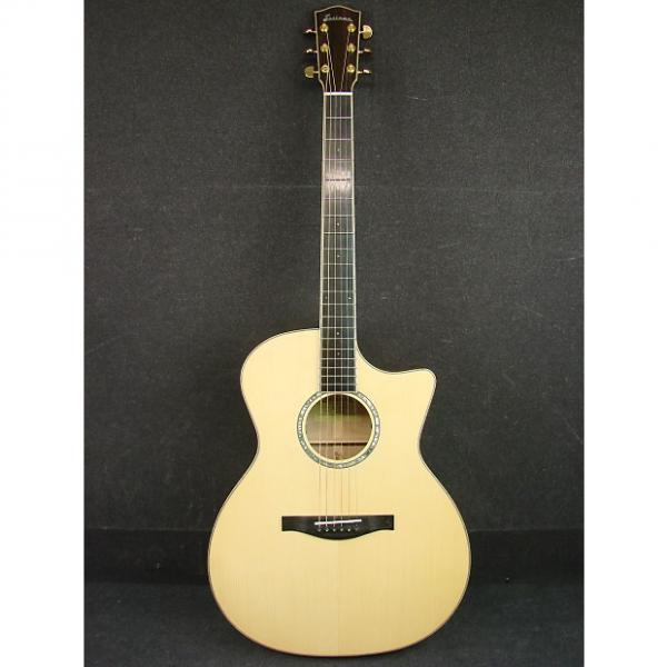 Custom Eastman AC622CE Solid-Top Grand Auditorium Acoustic/Electric Guitar W/Case #1 image