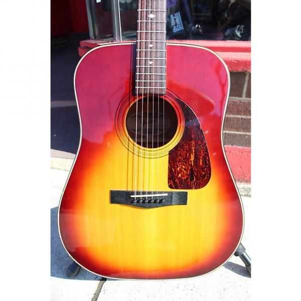 Custom Fender F-220 SB Acoustic Guitar #1 image