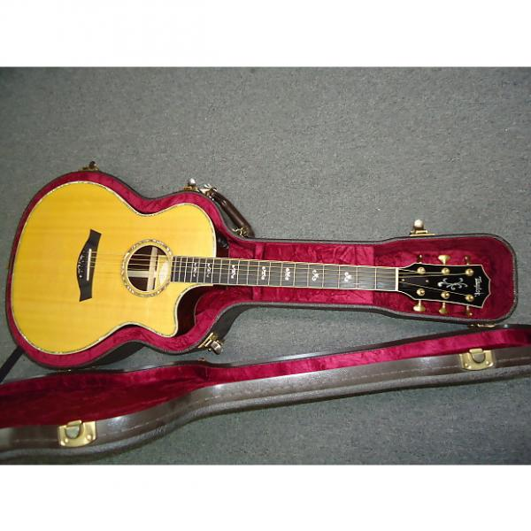 Custom Taylor 914CE-LTD Fall 2007 Limited Grand Auditorium Acoustic Electric Guitar Natural #1 image