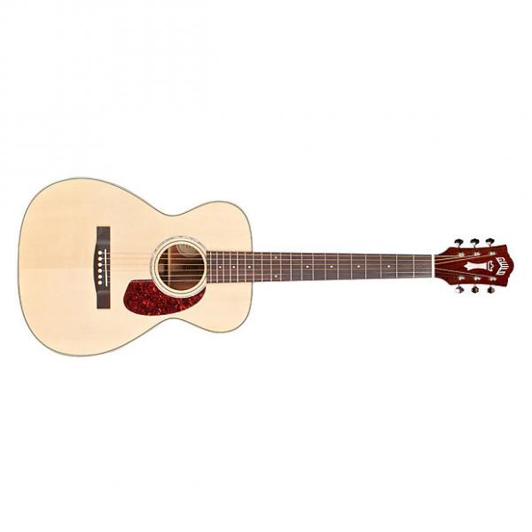 Custom Guild M-140 Westerly Concert Spruce Mahogany Acoustic Guitar Natural + Case #1 image