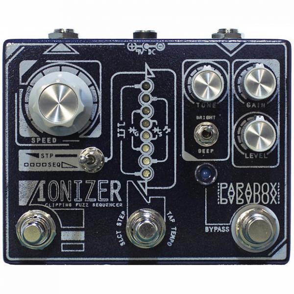 Custom Paradox Ionizer Clipping Fuzz Sequencer Guitar Effect Pedal Stompbox Foot Switch #1 image