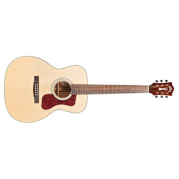 Custom Guild OM-140 Westerly Orchestra Spruce Mahogany Acoustic Guitar Natural + Case #1 image