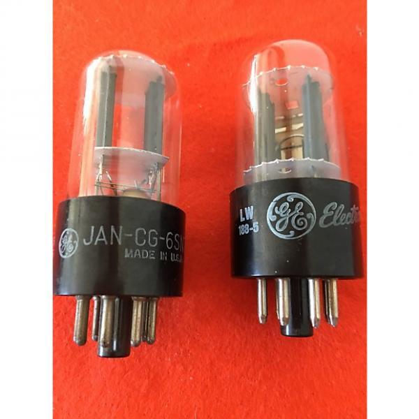 Custom GE 6SN7GTB pair of vacuum tubes #1 image