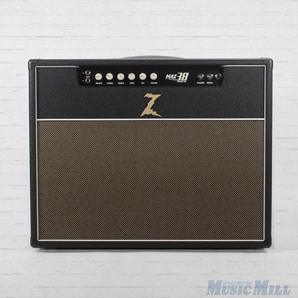 Custom Dr. Z Maz 38 SR NR Tube Guitar Combo Amplifier EL84 2x12 Combo Amp G12H30 #1 image