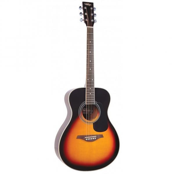 Custom Vintage V300VSB Acoustic Guitar, Vintage Sunburst #1 image