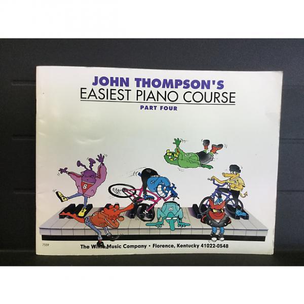 Custom John Thompson's Easiest Piano Course Part Four #1 image