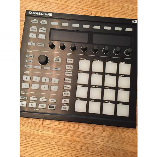 Custom Native Instruments Maschine MkII with 2.4 Software & Steel Blue Faceplate #1 image