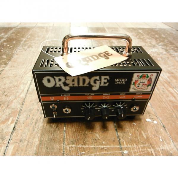 Custom Orange Micro Dark 20W Hybrid Head Black #1 image