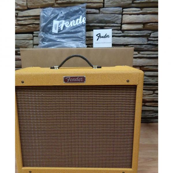 Custom Fender Blues Junior Lacquered Tweed w/ footswitch, slip-cover #1 image
