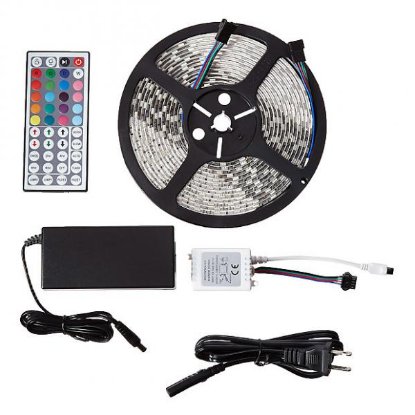 Custom MARQ BrightStrip 5-300S Waterproof Flexible LED Light Strip - with Power Supply & Remote #1 image