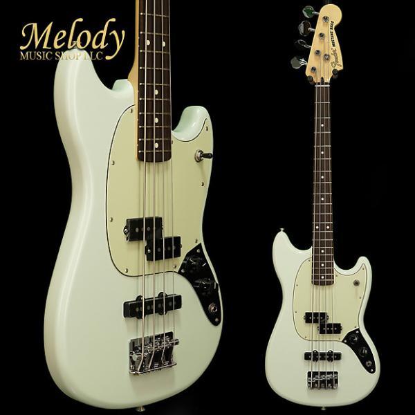 Custom Fender Mustang Bass PJ, Rosewood Fingerboard, Sonic Blue #1 image