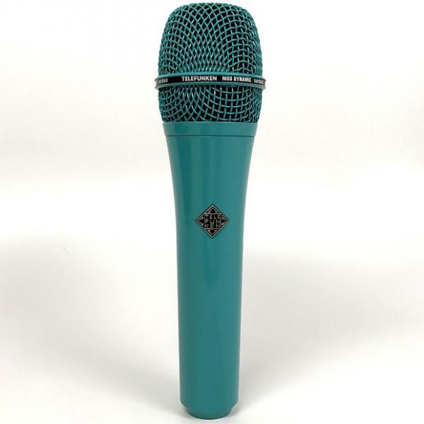 Custom Telefunken M80 Dynamic Microphone Super Cardioid Stage Recording Turquoise #1 image