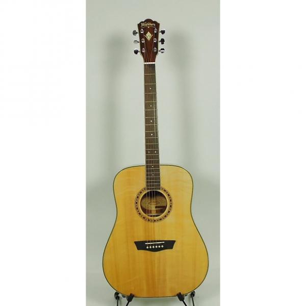 Custom Washburn  WD20S Acoustic Guitars 311629787 Natural #1 image