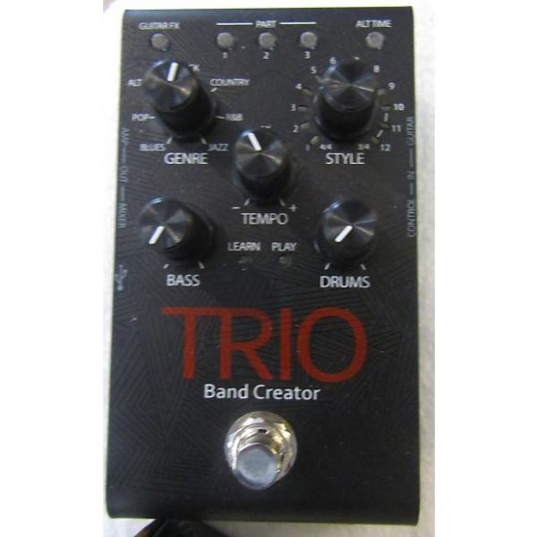 Custom DigiTech Trio Band Creator w/power supply #1 image