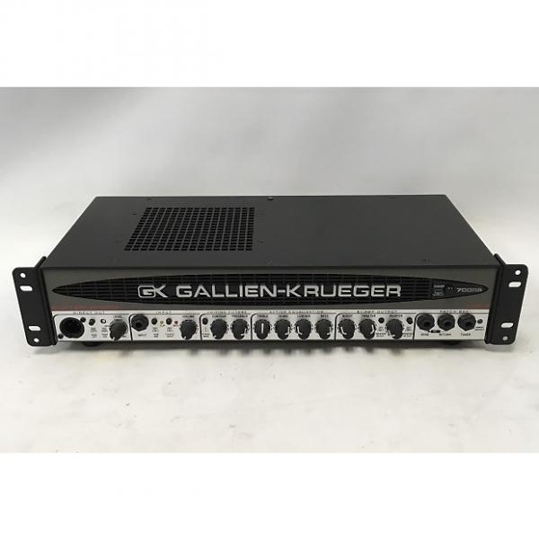 Custom Gallien-Krueger 700RB-II 450-Watt Biamp Bass Amp Head #1 image