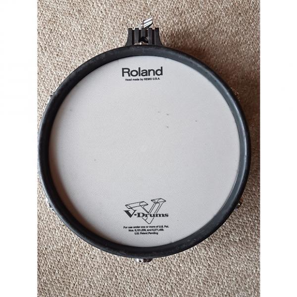 "Custom Roland PD-105BK V-Pad 10"" Dual Trigger Mesh Drum Pad #1 image"