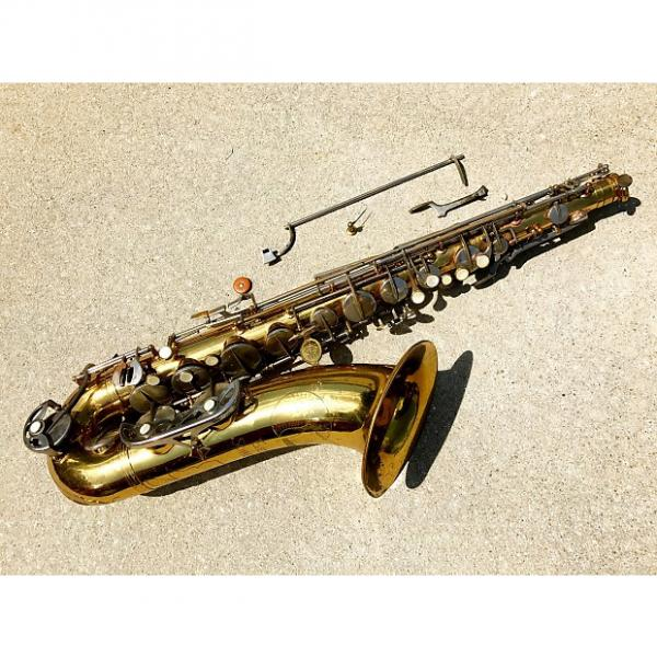 Custom Evette Schaeffer Tenor Saxophone for parts or repair vintage sax France Buffet Paris #1 image
