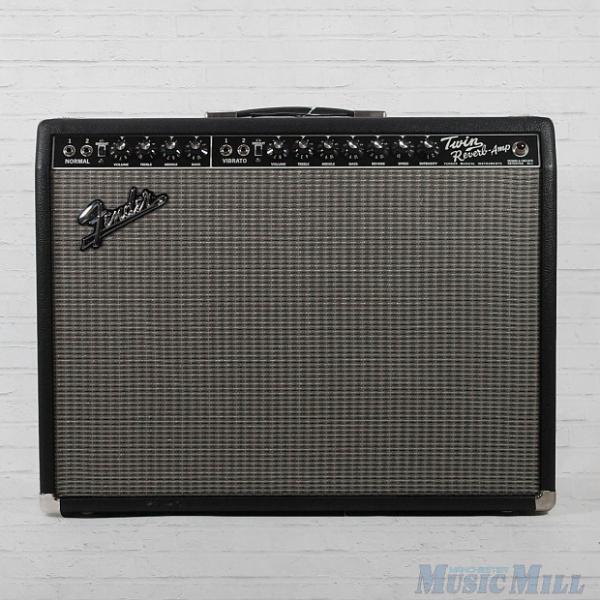 Custom Fender 65' Twin Reverb Reissue Tube Guitar Combo Amplifier #1 image