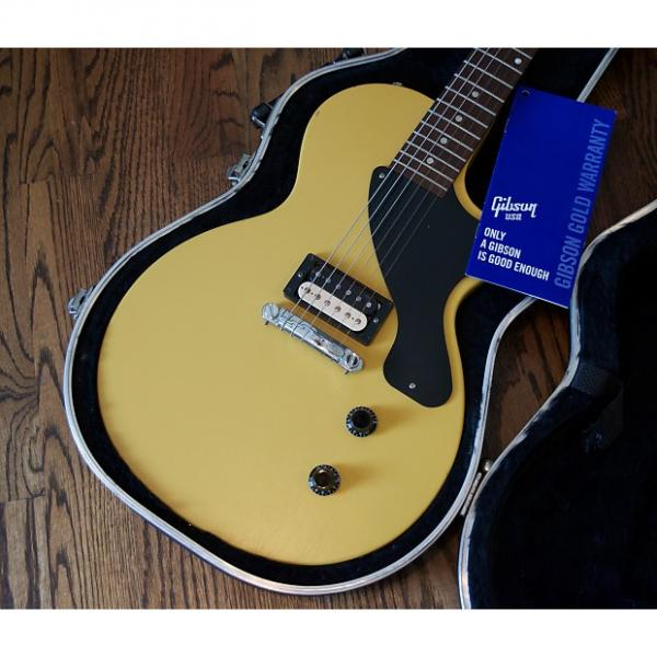 Custom 2011 Gibson Les Paul Jr w/ Factory Coil Split Zebra Humbucker Electric Guitar w/ SKB Case #1 image