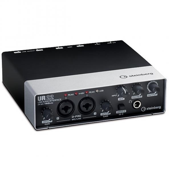 Custom Steinberg UR 22 USB Audio Interface 24-bit 192kHz Black #1 image