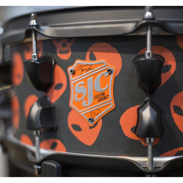 Custom SJC Custom Josh Dun 6x14 Signature Snare Drum #1 image