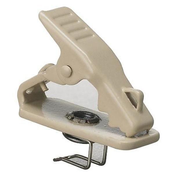 Custom Audio-Technica AT8420-TH Miniature Metal Tie Clip Beige #1 image