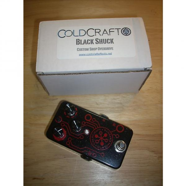 Custom Coldcraft Effects Black Shuck Overdrive/Distortion Pedal - Made in USA #1 image