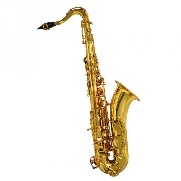 Custom Schiller American Heritage 400 Tenor Saxophone - Gold Knox #1 image