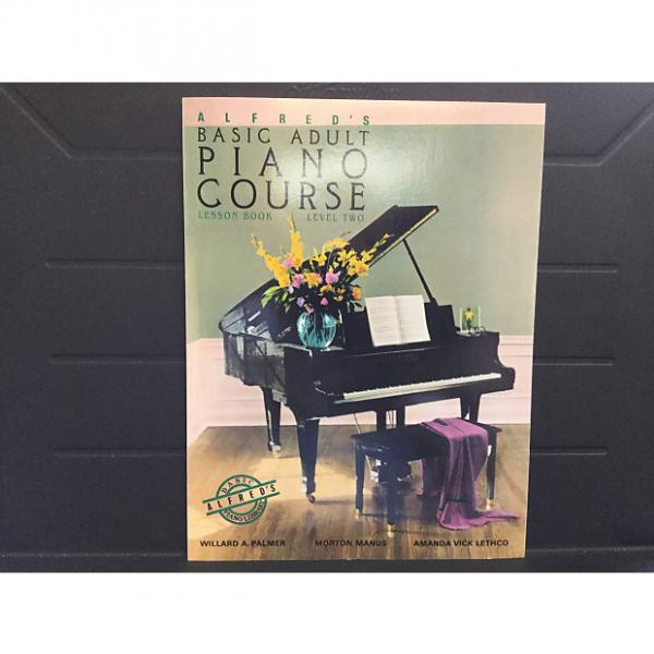 Custom Alfred's Basic Adult Piano Course Lesson Book Level 2 #1 image