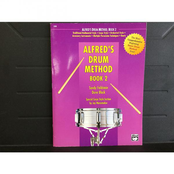 Custom Alfred''s Drum Method Book 2 #1 image