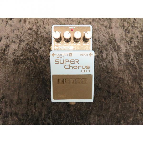 Custom Boss CH-1 Super Chorus Guitar Effects Pedal #1 image
