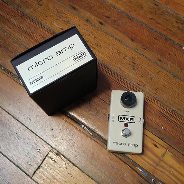 Custom MXR M133 Micro Amp w/Original Box #1 image