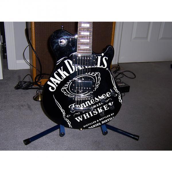 Custom Peavey Jack Daniel's Les Paul style Old #7 Electric Guitar #1 image