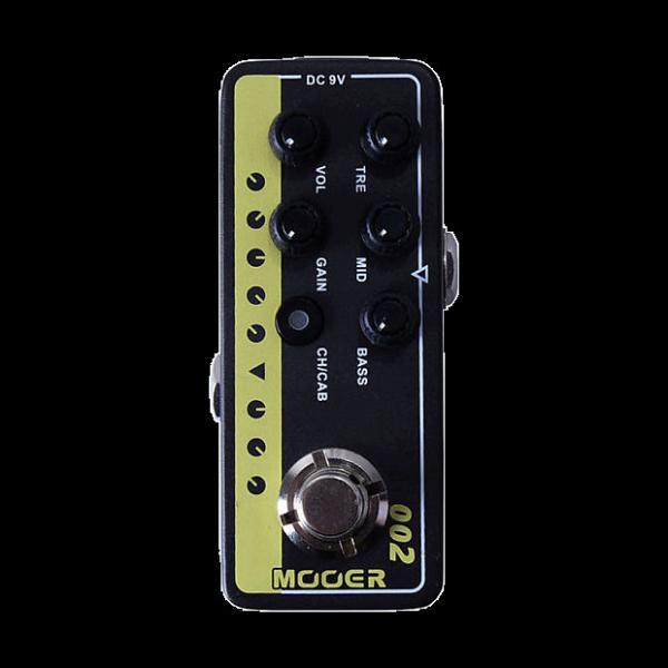 Custom new Mooer Preamp 002 UK Gold (Marshall) amp model guitareffect pedal #1 image