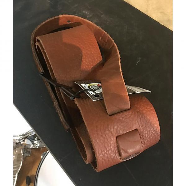 "Custom Lakota Leather 3"" Leather Guitar Strap #1 image"