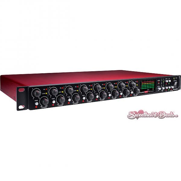 Custom Focusrite Scarlett OctoPre Dynamic - Eight Channel Preamp and Audio Interface #1 image