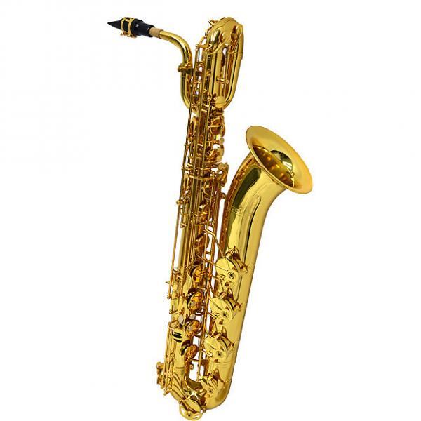 Custom Schiller American Heritage 400 Baritone Saxophone - Gold Knox #1 image