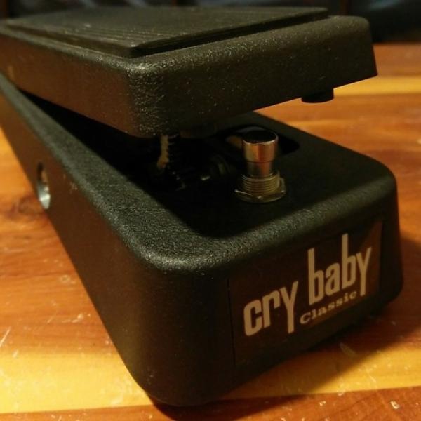 Custom Dunlop GCB-95F Cry Baby Classic Fasel recent Black #1 image