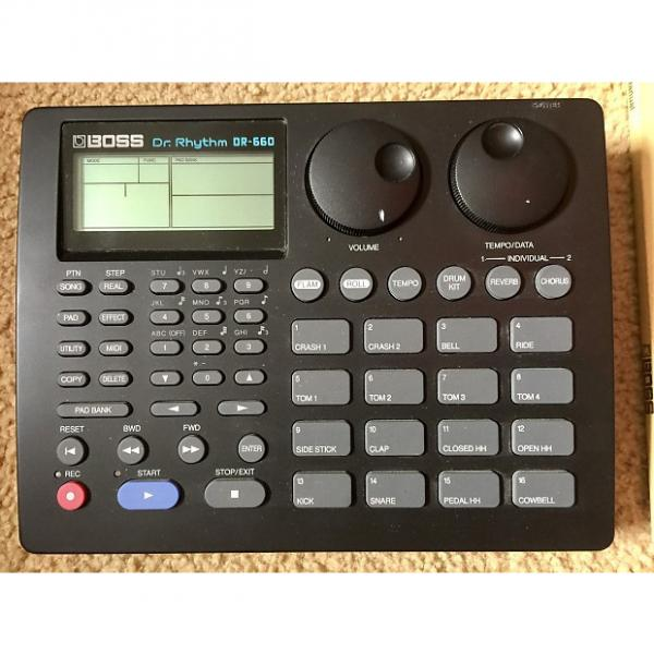 Custom Boss DR-660 Drum Machine As-Is With Manual Power Supply #1 image