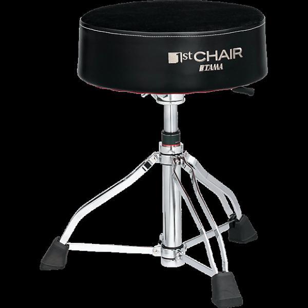 Custom Tama HT850BC Round Rider XL Hydraulix Cloth Top Drum Throne #1 image